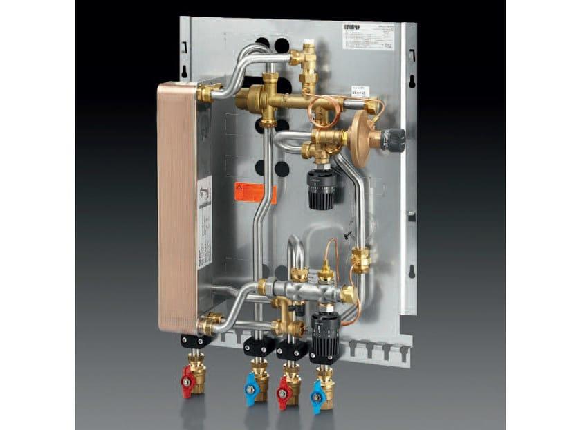 Mixing unit and manifold REGUDIS W-TU - OVENTROP