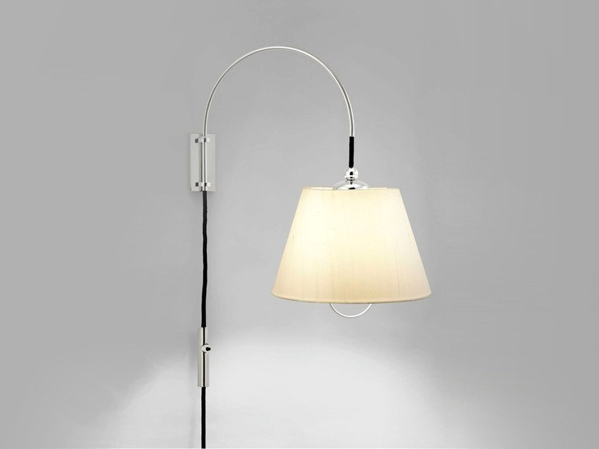 Wall lamp with swing arm REIBE by Kalmar