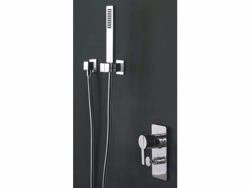 Single handle shower mixer with diverter REM | Shower mixer with diverter - ZAZZERI