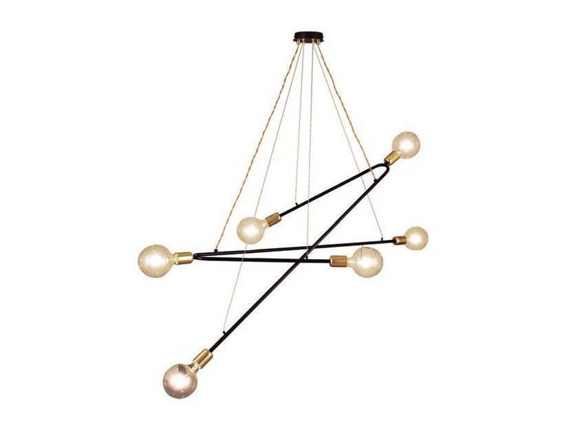 Metal pendant lamp RENDO | Metal pendant lamp - Aromas del Campo