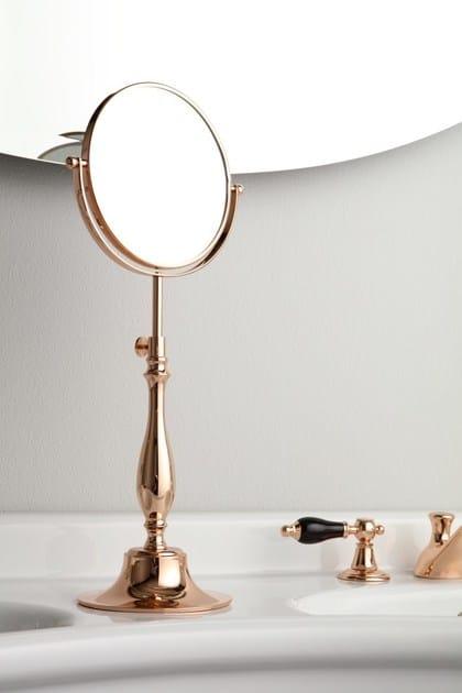 Specchio da appoggio per bagno RETRO STYLE ACCESSORIES | Specchio da appoggio per bagno - BLEU PROVENCE