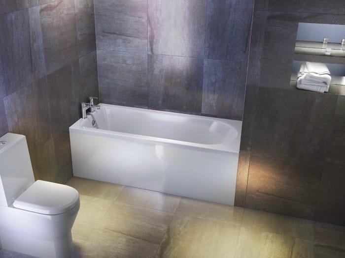 Rectangular built-in bathtub REUSE - Polo