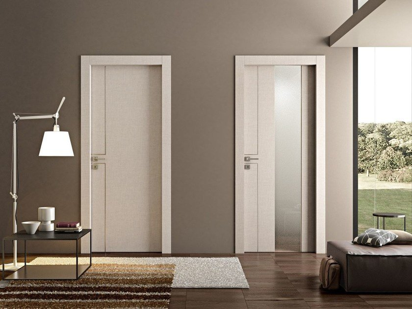 Hinged wooden door RFX - Pail Serramenti