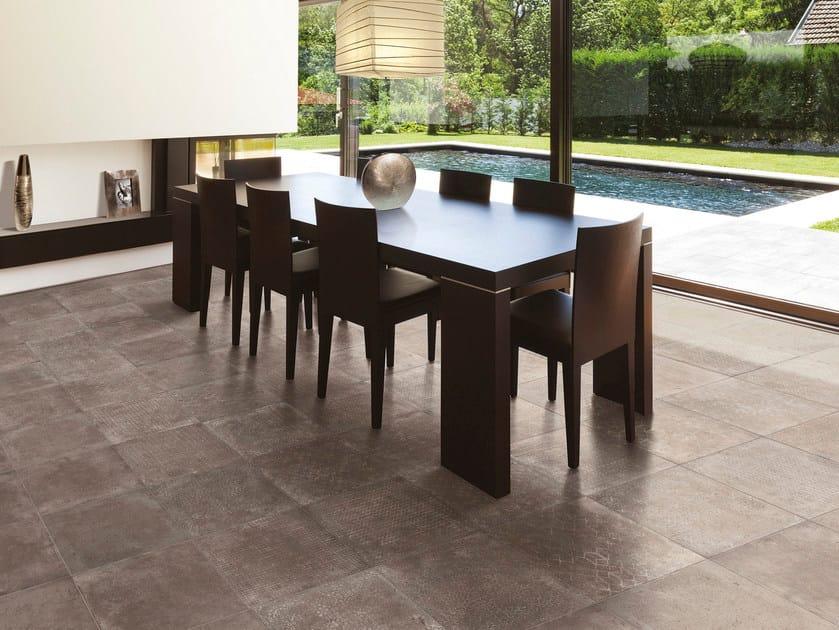 Glazed stoneware flooring RIABITA IL COTTO | Flooring by Serenissima