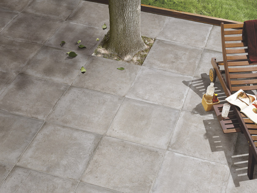 Glazed stoneware outdoor floor tiles RIABITA IL COTTO | Outdoor floor tiles - Serenissima