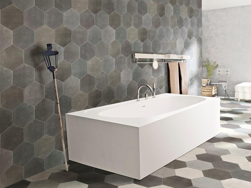 Porcelain stoneware wall tiles RIABITA IL COTTO | Wall tiles by CIR