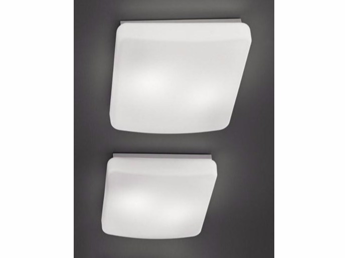 Glass ceiling lamp RIALTO | Ceiling lamp by Ailati Lights