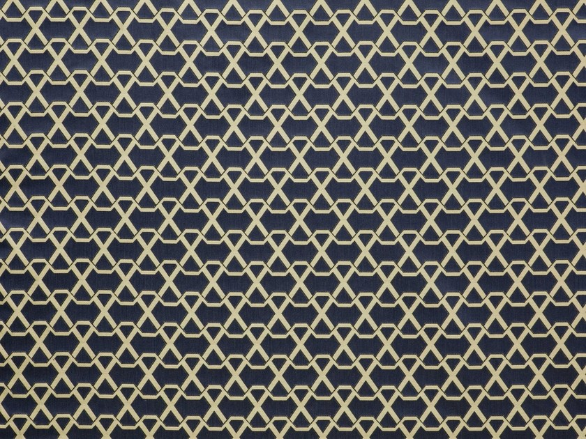 Jacquard upholstery fabric with graphic pattern RIBON - LELIEVRE