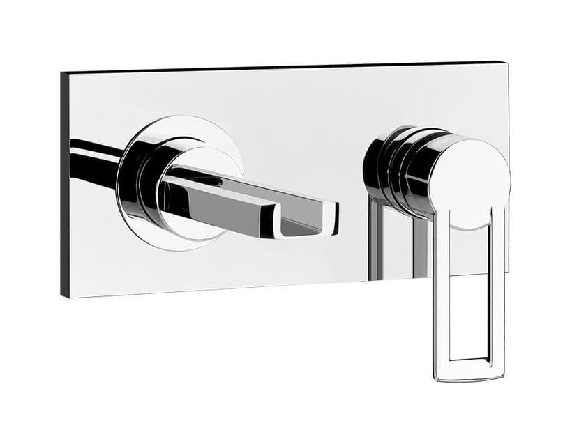 Single handle waterfall bathroom tap RIFLESSI 44881 - Gessi