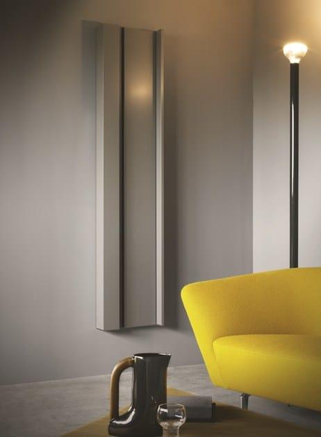 Termoarredo elettrico verticale rift collezione elements for Termoarredo salone