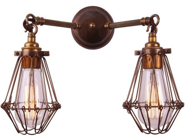 Rigo Double Cage Wall Light