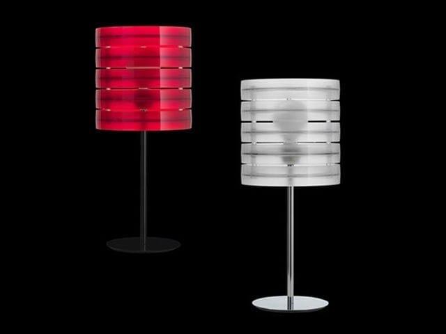Technopolymer table lamp RING | Table lamp - Caimi Brevetti