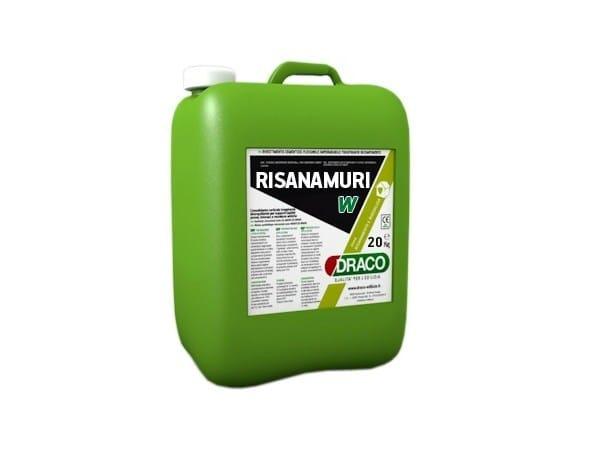 Chemical barrier anti-humidity system RISANAMURI W by DRACO ITALIANA