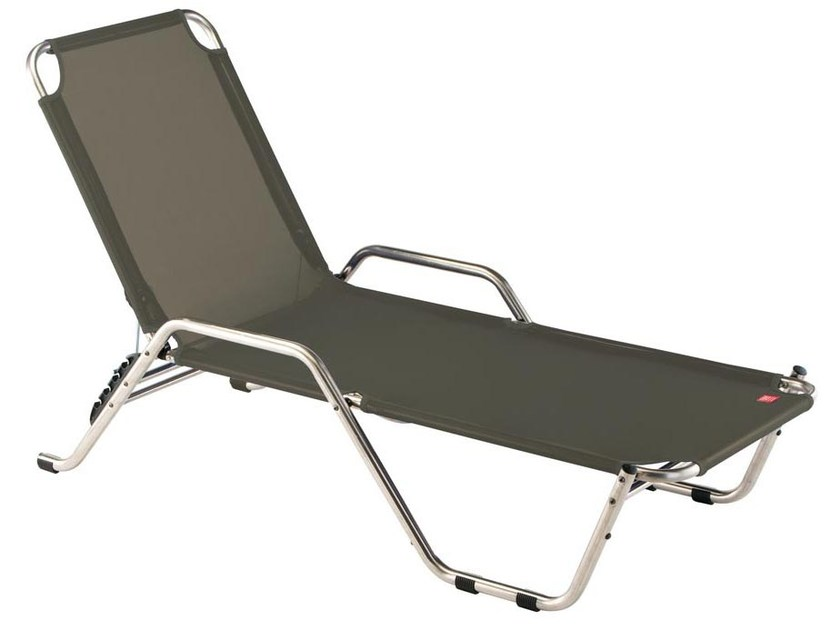 Stackable Recliner fabric garden daybed RIVER by FIAM