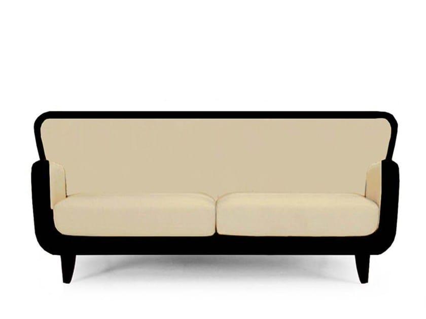 Upholstered velvet sofa RIVOLI by Moanne