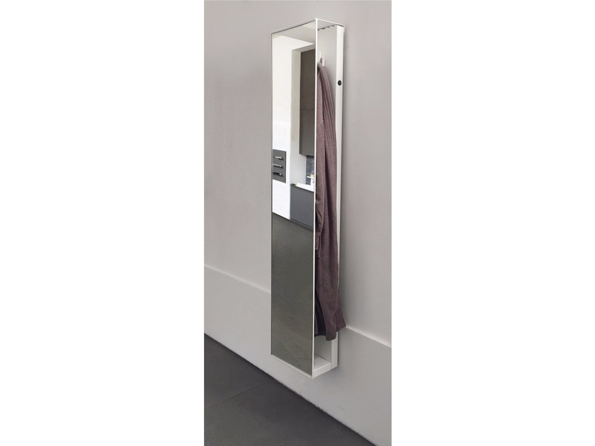 Vertical wall-mounted towel warmer ROBE DOUBLE - mg12