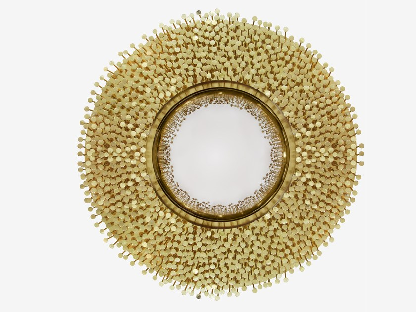 Round wall-mounted mirror ROBIN | Mirror - Boca do Lobo