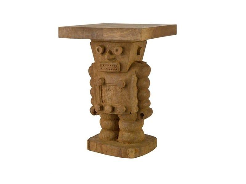 Tavolino quadrato in legno ROBOT - Pols Potten