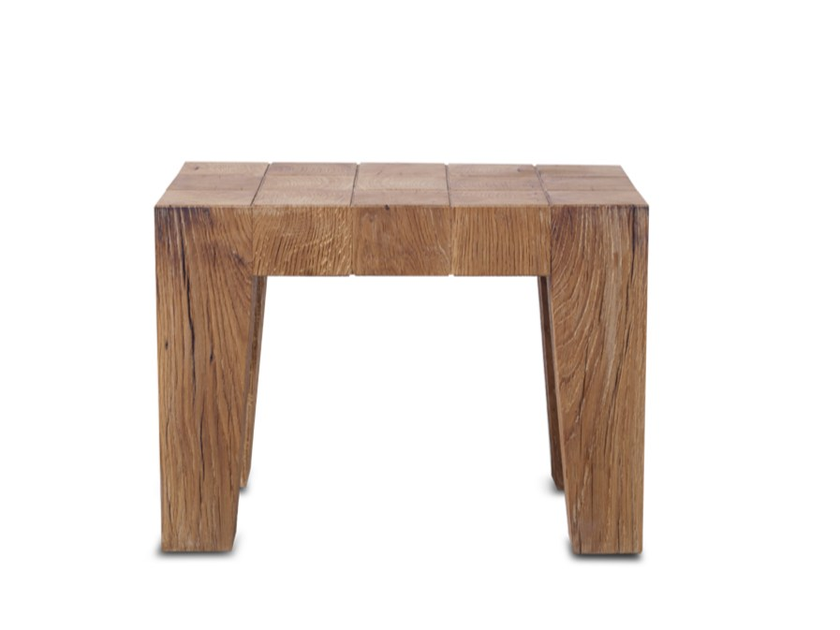 Low solid wood coffee table ROBUST CT01 by HOOKL und STOOL