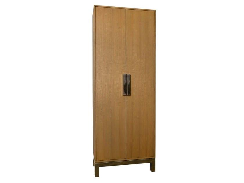 Wood veneer wardrobe ROCA | Wood veneer wardrobe - Branco sobre Branco