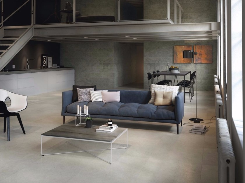 Wall/floor tiles with stone effect ROCK GREY - FMG Fabbrica Marmi e Graniti