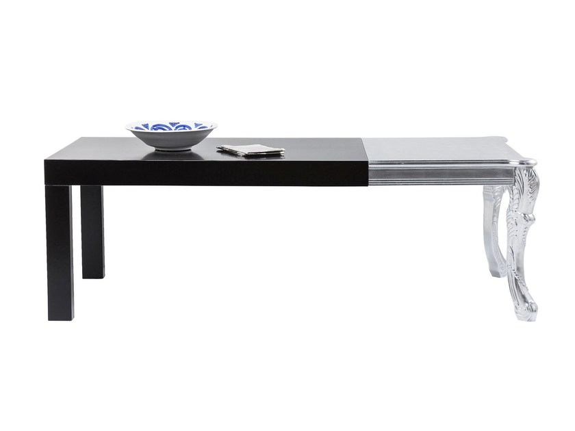 Rectangular MDF table ROCKSTAR | Rectangular table - KARE-DESIGN