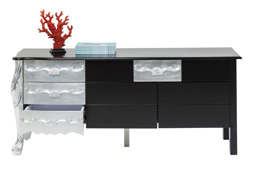 Lacquered sideboard with drawers ROCKSTAR | Sideboard - KARE-DESIGN