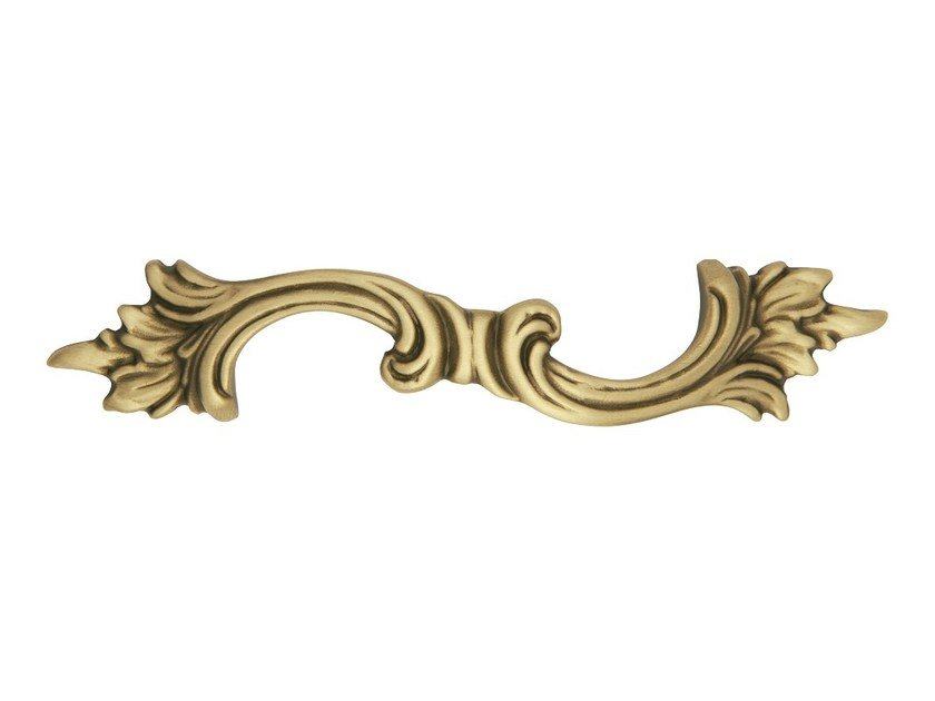 Brass Furniture Handle ROCOCÒ | Brass Furniture Handle - LINEA CALI'