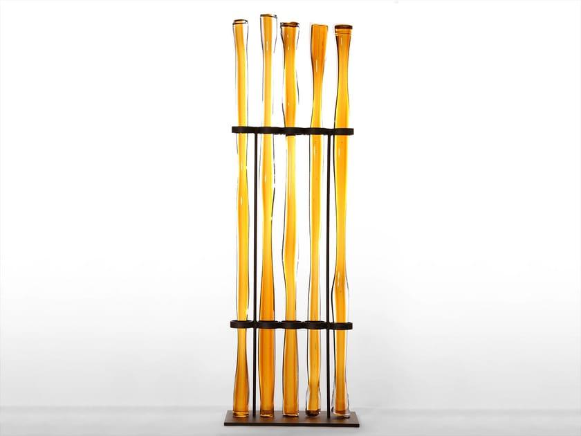 Blown glass decorative object ROD OBJECT - SkLO