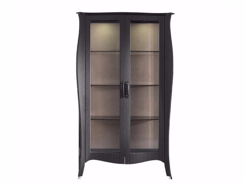 Wool highboard / display cabinet ROGER | Display cabinet - Gianfranco Ferré Home