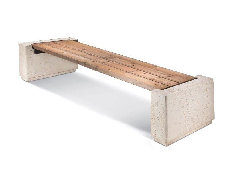 Backless Bench ROGER - LAB23