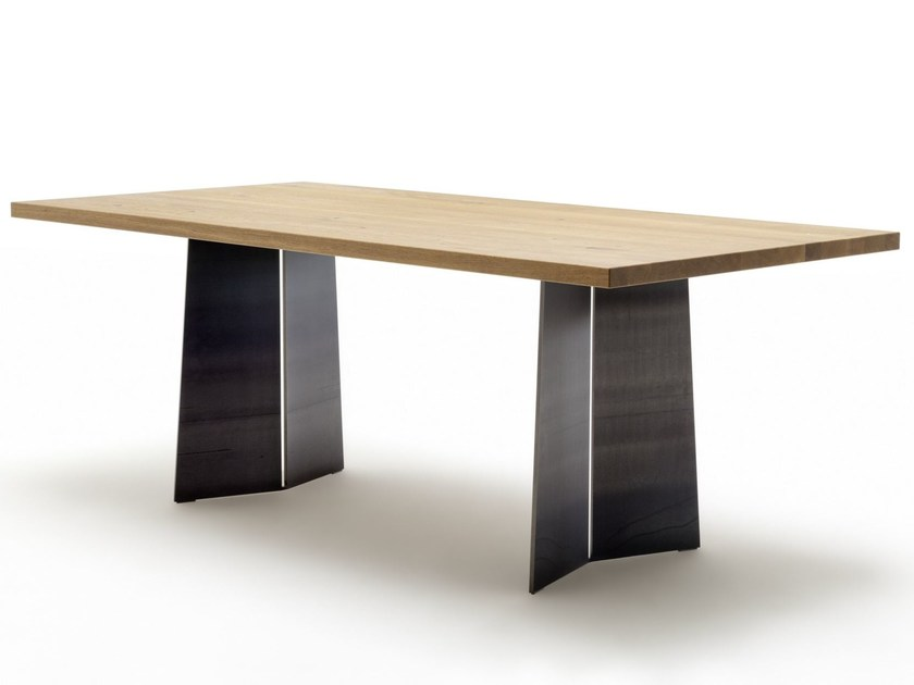 Rectangular wooden table ROLF BENZ 969   Table by Rolf Benz