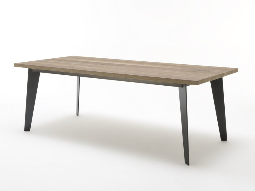 Rectangular wooden table ROLF BENZ 979 | Table by Rolf Benz