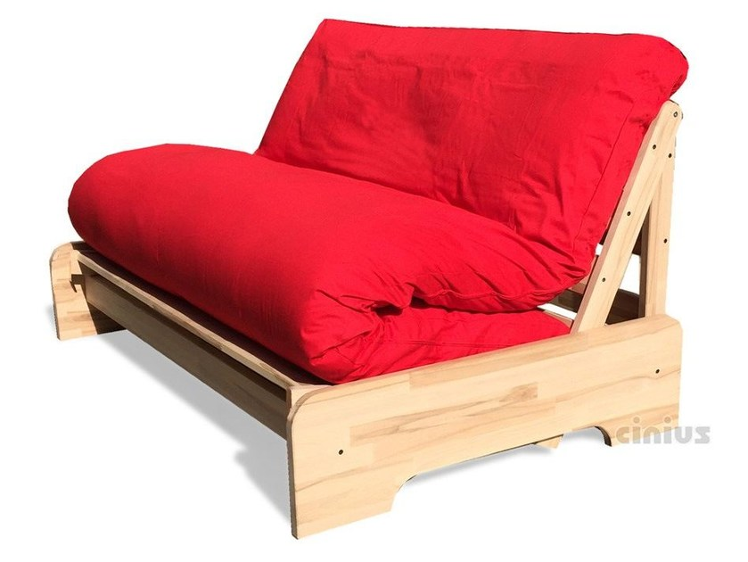 Solid wood sofa bed roma by cinius for Solid wood futon sofa bed