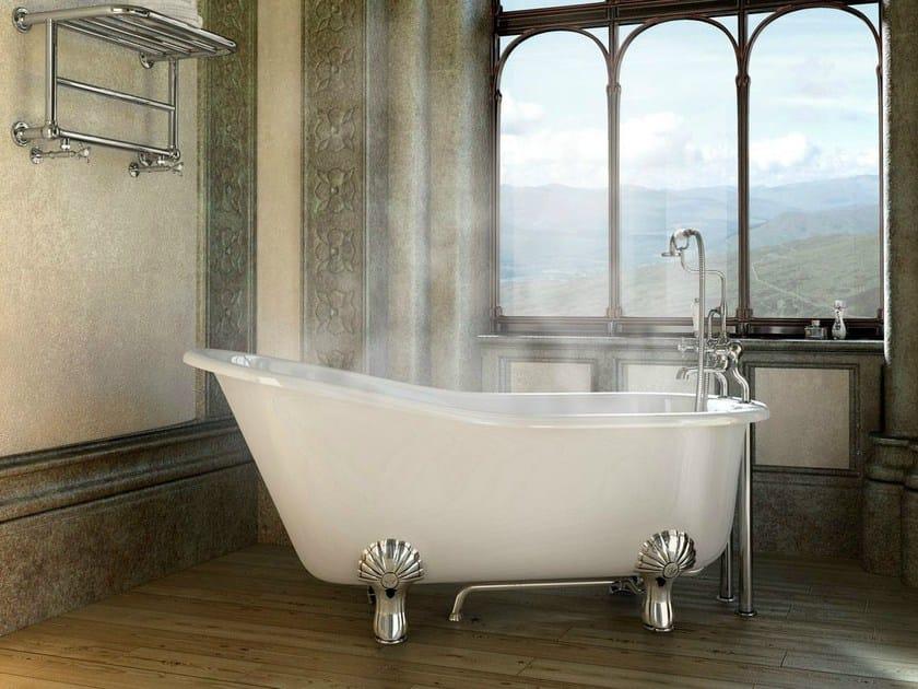 Freestanding oval bathtub on legs ROMANO - Polo