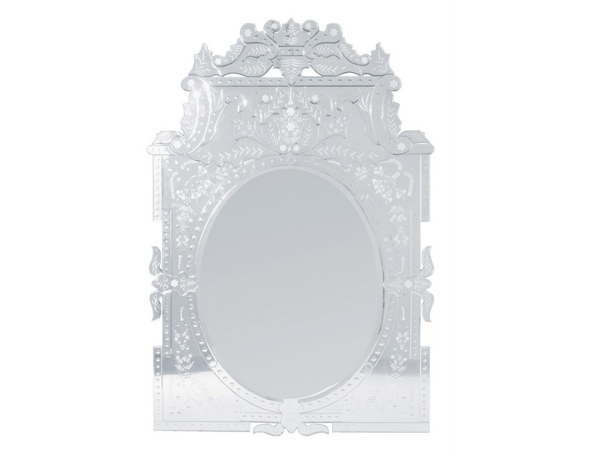 Wall-mounted mirror ROMANTICO by KARE-DESIGN