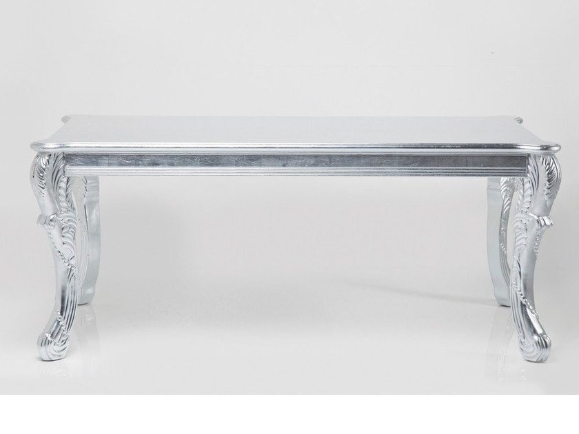 Rectangular MDF table ROMANTICO SILVER - KARE-DESIGN