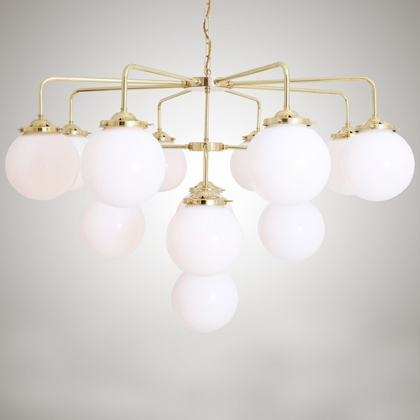 Handmade chandelier ROME CHANDELIER - Mullan Lighting