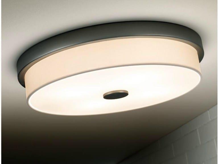 Polyester ceiling light RONDO F - BOVER Il. Luminació & Mobiliario