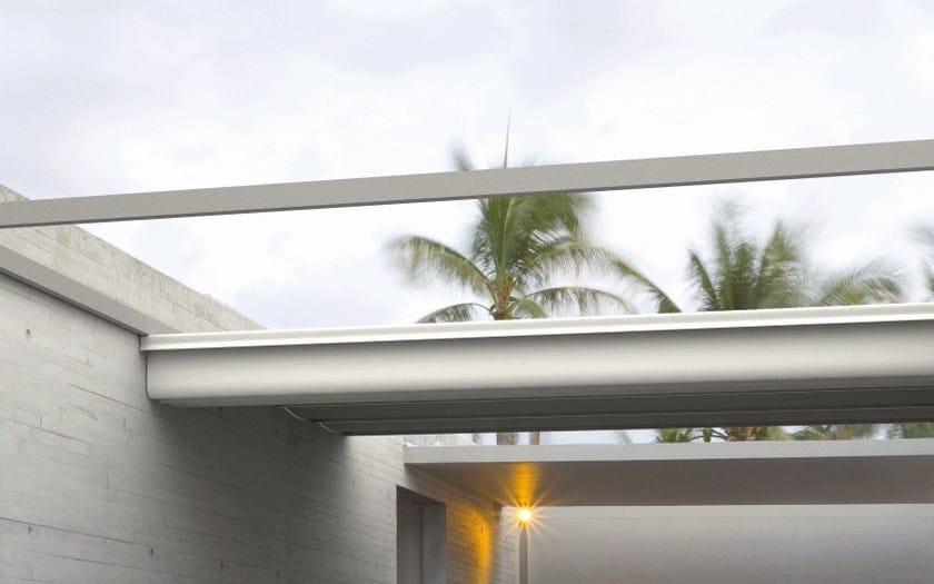 Pergolato motorizzato in alluminio roof 90 140 arquati - Arquati sala baganza ...