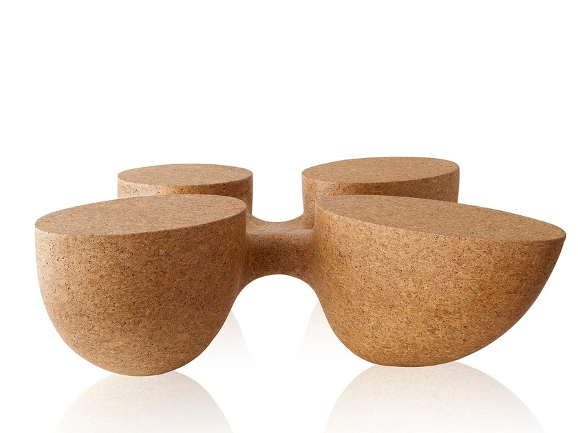 Cork coffee table ROOTS | Cork coffee table - Sollos