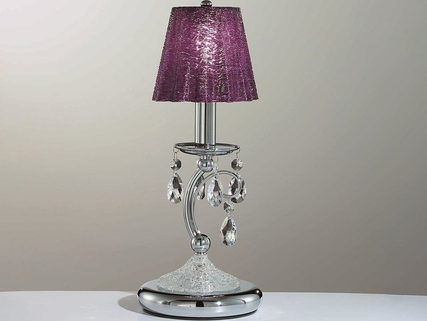 Table lamp with Swarovski® crystals ROSSELLA | Table lamp by IDL EXPORT