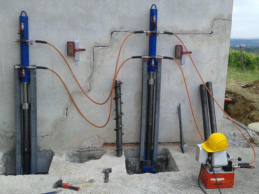 Ground and foundation consolidation ROTO&PUSH - Difech