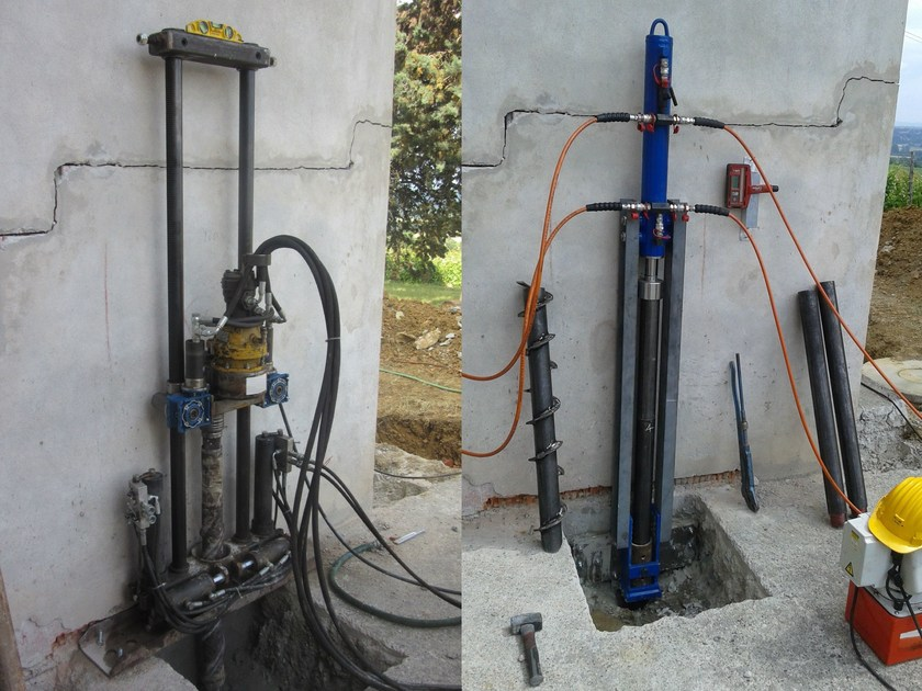 Ground and foundation consolidation ROTO&PUSH by Difech