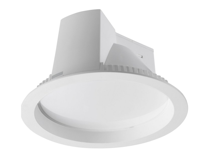 LED round recessed polycarbonate spotlight ROUND XL - LED BCN Lighting Solutions