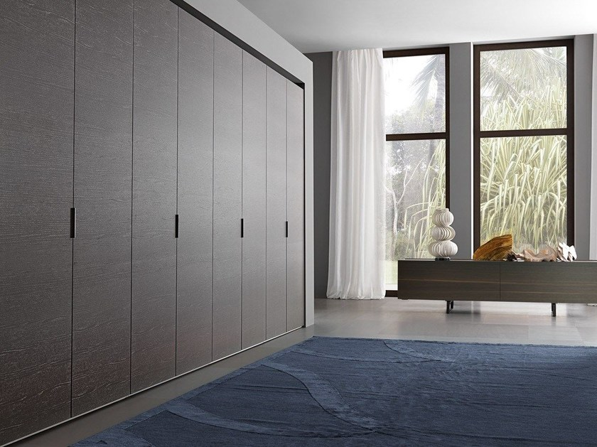 Sectional melamine-faced chipboard wardrobe ROVIX | Sectional wardrobe by MisuraEmme