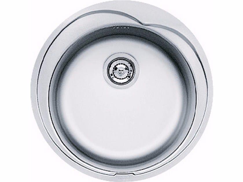 Lavello a una vasca da incasso in acciaio inox ROX 610-41 - FRANKE