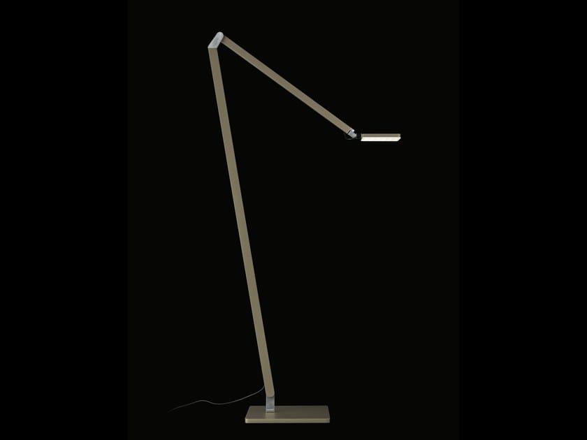 Reading luminaire with converter & gesture control ROXXANE HOME | Floor lamp - Nimbus Group