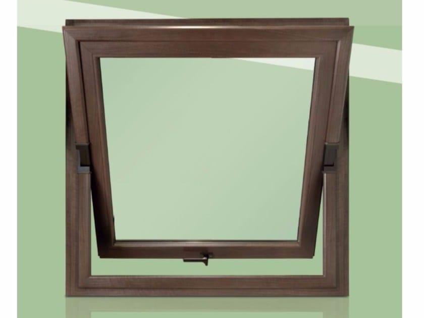 PVC horizontally pivoted window RUBINO | Horizontally pivoted window - Cos.Met. F.lli Rubolino