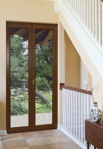 Porta finestra a battente in pvc rubino porta finestra in pvc cos met rubolino - Finestre pvc forum ...